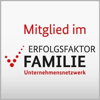 Mitglied im Erfolgsfaktor Familie - Unternehmensnetzwerk